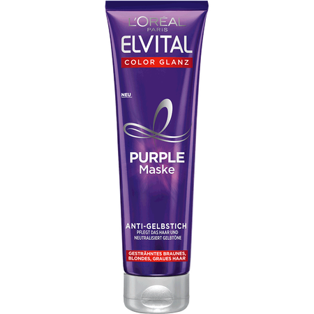 L'ORÉAL PARIS ELVITAL Color Glanz Purple Maske Anti-Gelbstich