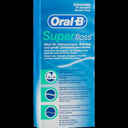 Oral-B Superfloss Zahnseide Fäden