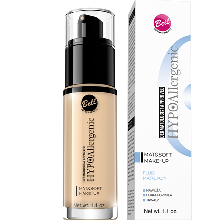 HYPOAllergenic Mat&Soft Make-up