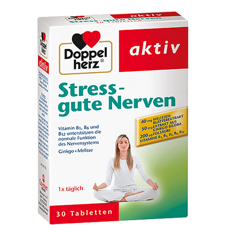 DOPPELHERZ Stress - Gute Nerven Tabletten