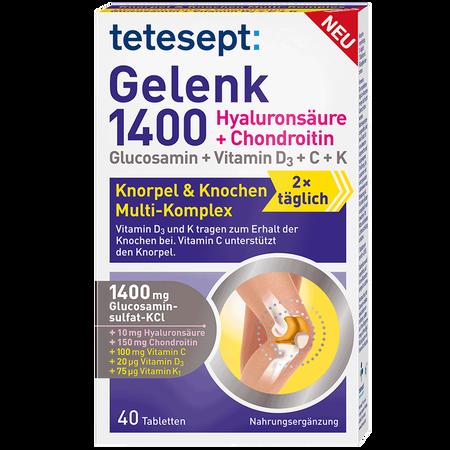 tetesept: Gelenk 1400 Tabletten