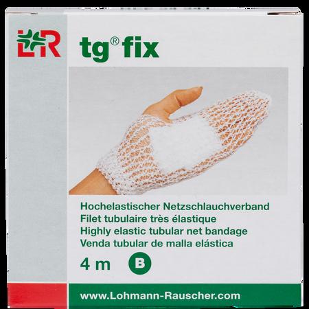 LOHMANN & RAUSCHER tg® fix Hochelastischer Netzschlauchverband 4 m Gr. B