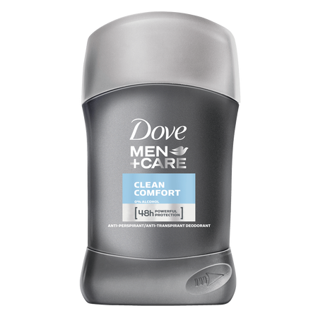 Dove MEN+CARE Clean Comfort Deo Stick