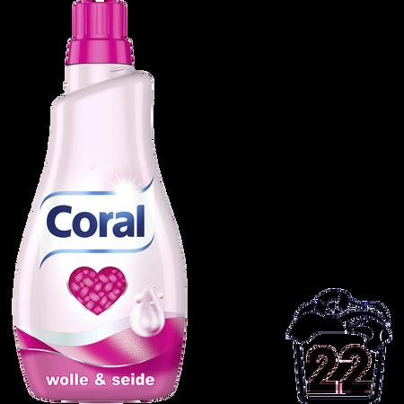 Coral Waschmittel Wolle & Seide flüssig