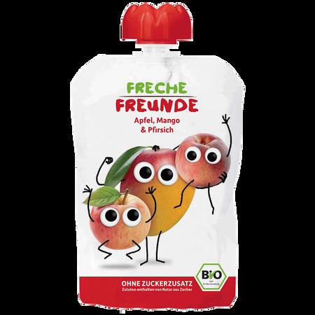 Freche Freunde Quetschbeutel Mango & Pfirsich