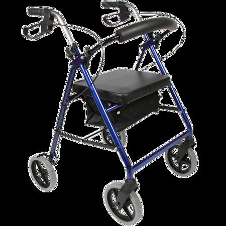 FRÜHWALD Rollmobil mit Sitz- und Rückenlehne
