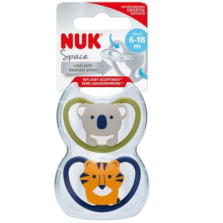 NUK Space Schnuller 6-18M