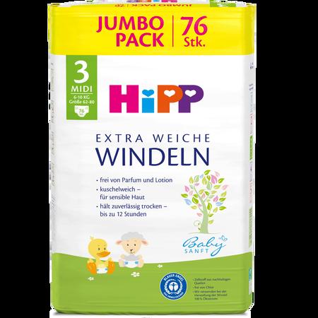HiPP Gr. 3 Jumbo Pack 6-10 kg Windeln