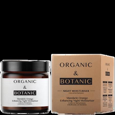 ORGANIC & BOTANIC Mandarin Oange Enhancing Night Moisturiser Nachtpflege