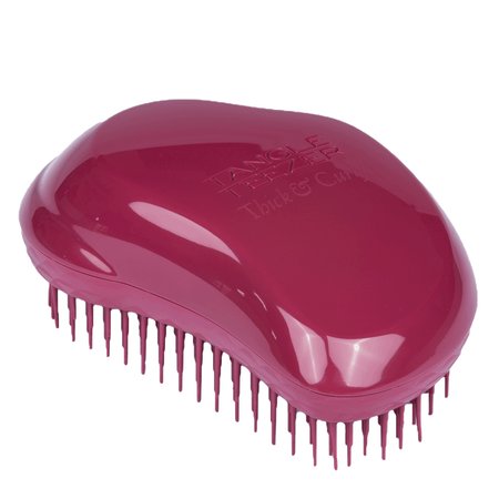 TANGLE TEEZER Thick & Curly dunkelrot