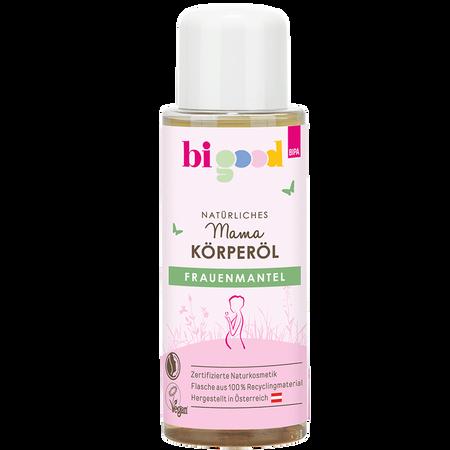 bi good Natürliches Mama Körperöl Frauenmantel
