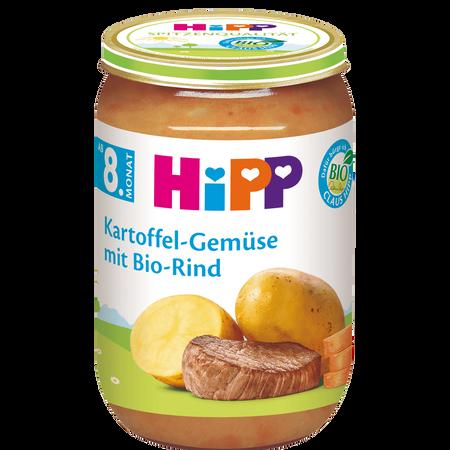 HiPP Kartoffel-Gemüse mit Rind