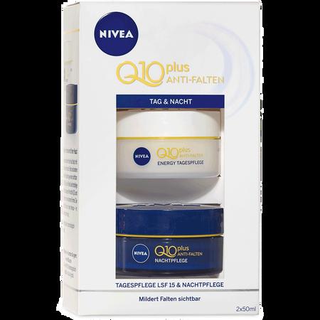 NIVEA Pflege-Set Q10 Anti-Falten Tag und Nacht