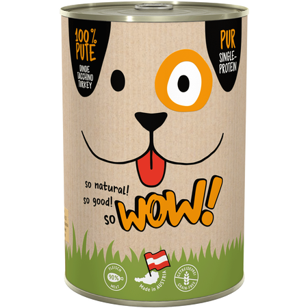 WOW Adult Pute pur Hundefutter