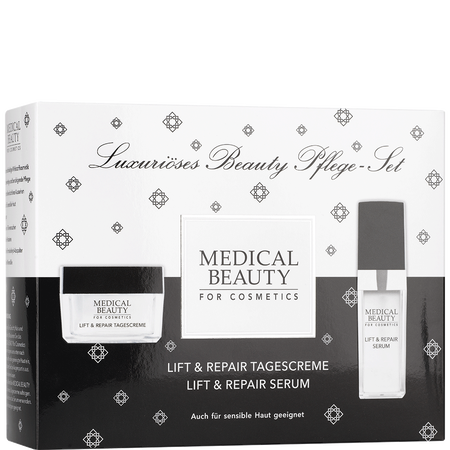 MEDICAL BEAUTY for Cosmetics Lift & Repair Tagescreme + Serum Set