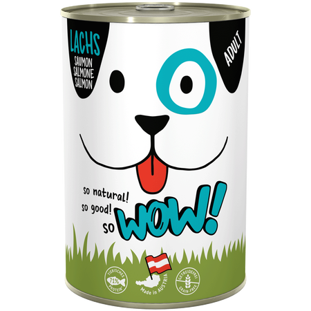 WOW Adult Lachs Hundefutter
