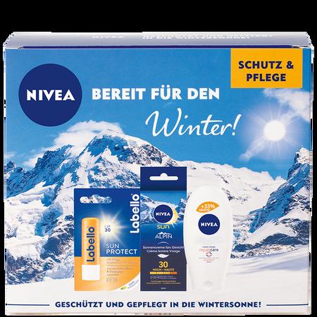 NIVEA Bereit für den Winter Schutz- & Pflegeset