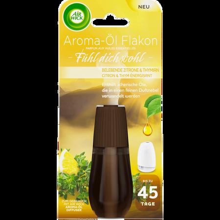 AIRWICK Fühl dich Wohl Aroma Öl Diffuser Nachfüllung Zitrone & Thymian