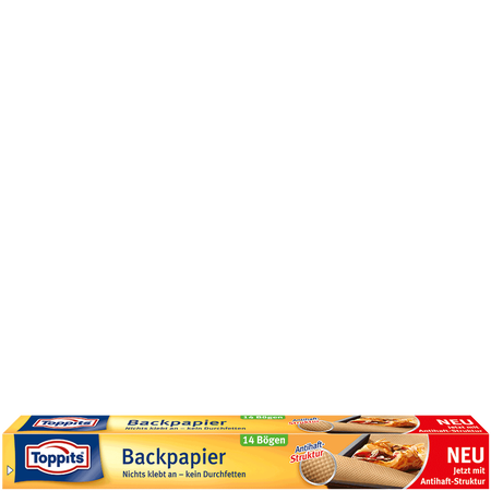 Toppits Backpapier in Bögen
