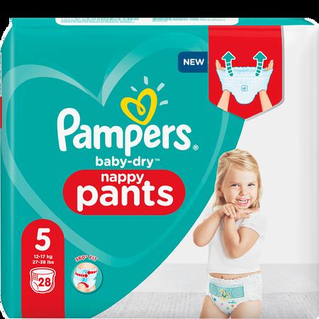 Pampers Baby-Dry Pants Gr. 5 (12-17kg) Einzelpack