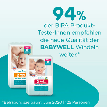 BABYWELL Premium-Windeln Mini Gr. 2