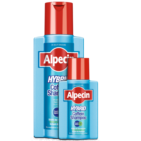 Alpecin Hybrid Coffein Shampoo  + Mini