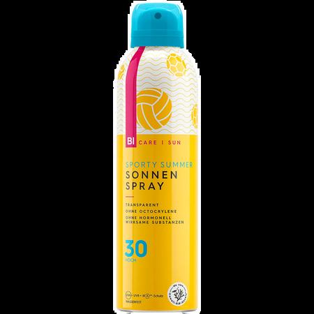 BI CARE SUN  Sporty Summer transparenter Sonnenspray LSF 30