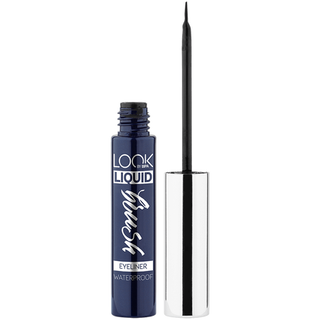 LOOK BY BIPA Liquid Brush Eyeliner waterproof