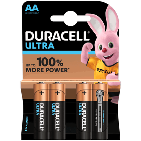 DURACELL Ultra Power Alkaline AA Batterien