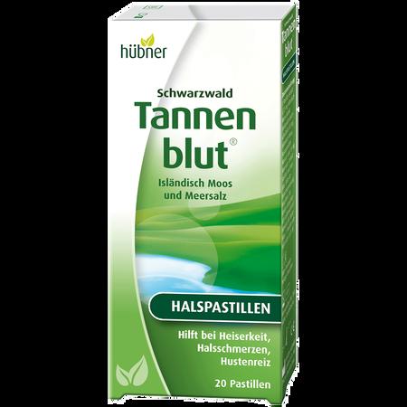 Hübner Tannenblut Halspastillen