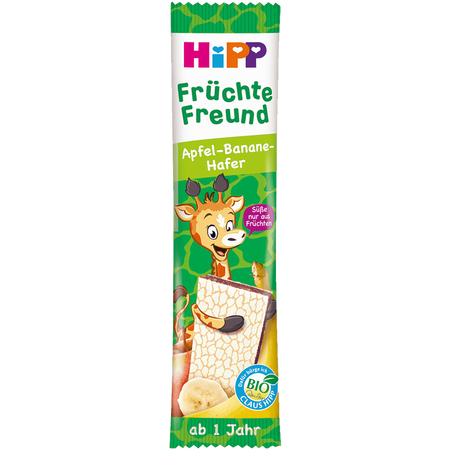 HiPP Früchte Freund Giraffe  Apfel-Banane-Hafer