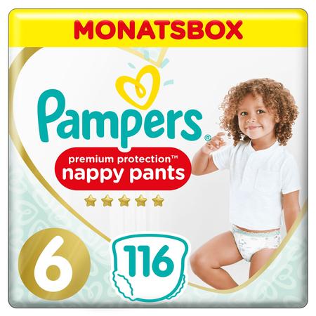 Pampers Premium Protection Pants,   Gr.6, 15+kg, Monatsbox