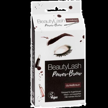 Bild: BeautyLash Power Brow Färbeset für Augenbrauen dunkelbraun BeautyLash Power Brow Färbeset für Augenbrauen