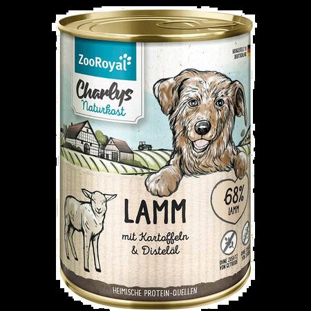 ZooRoyal Charlys Naturkost Lamm mit Kartoffeln