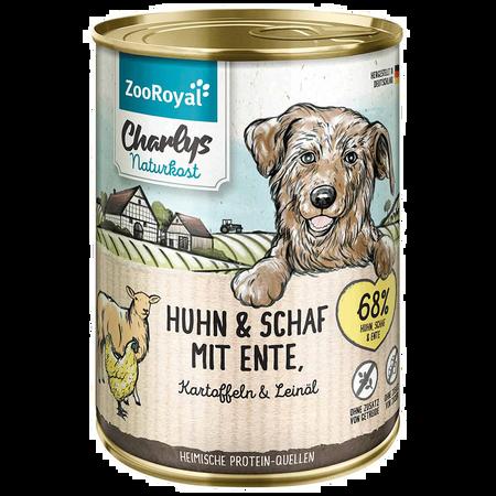 ZooRoyal Charlys Naturkost Huhn & Schaf Hundefutter