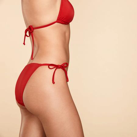 p2 Triangel Bikini Einfärbig