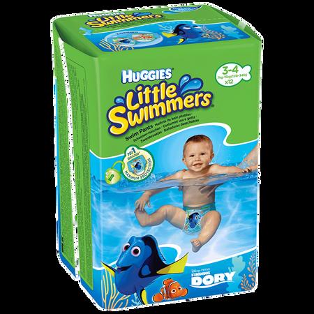 HUGGIES Little Swimmers Schwimmwindeln Gr. 3-4