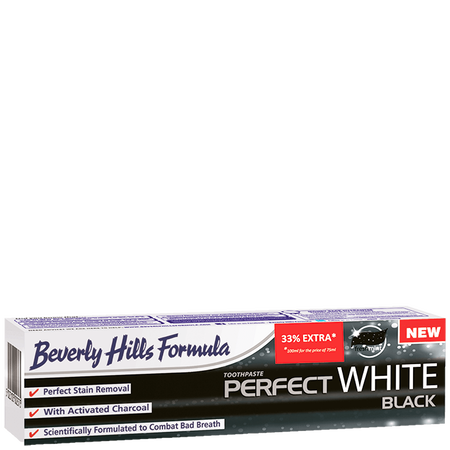 Beverly Hills Formula Perfect White Black Zahncreme