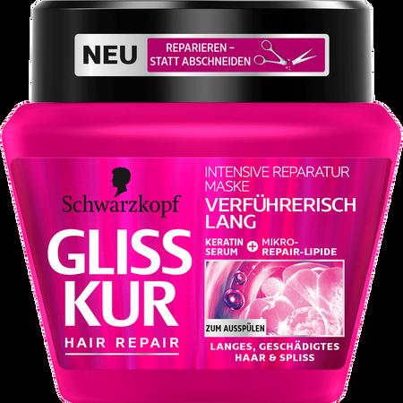 Schwarzkopf GLISS KUR Hair Repair Intensive Reparatur Maske Verführerisch Lang