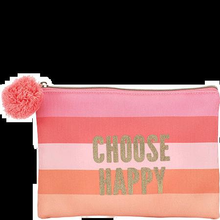 LOOK BY BIPA Choose Happy Kosmetiktasche mit Bommel