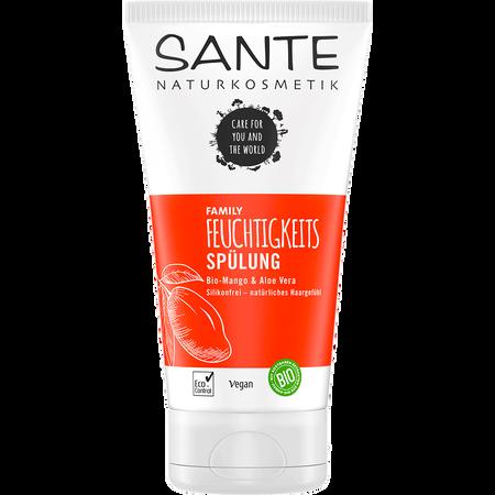 SANTE Feuchtigkeits-Haarspülung Anti-Frizz-Effekt Bio-Mango & Aloe