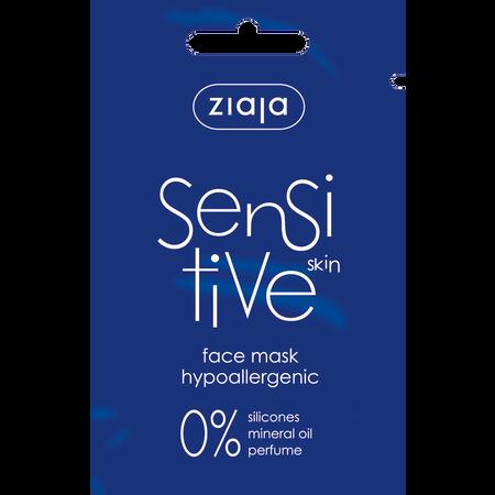 Ziaja Sensitive skin face mask hypoallergenic