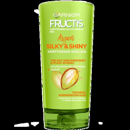 GARNIER FRUCTIS Silky & Shiny Argan kräftigende Haarspülung