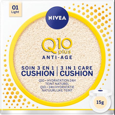 NIVEA Q10 Anti-Age 3 in 1 Care Cushion Light