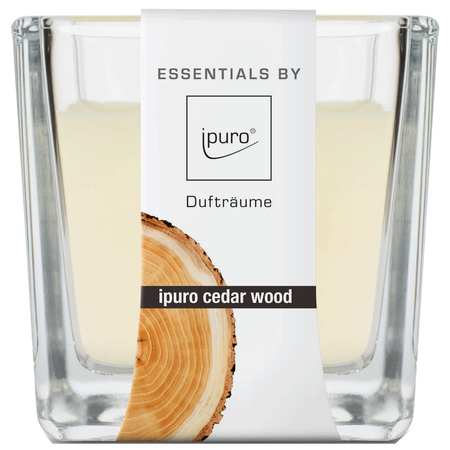 ipuro Duftkerze Essentials Cedar Wood