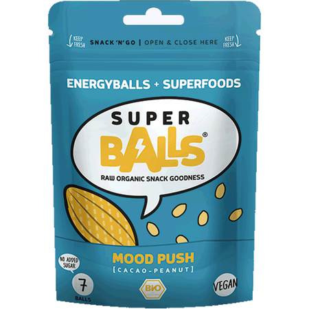 Super Balls Mood Push Cacao Snack