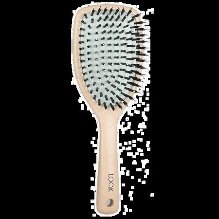 LOOK BY BIPA Haarpflegebürste Beige Vegan