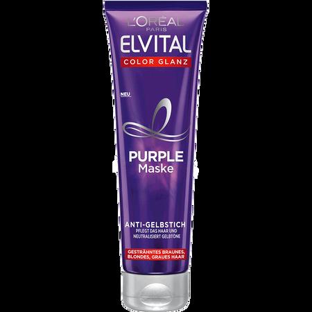 L'ORÉAL PARIS ELVITAL Color Glanz Purple Maske Anti-Gelbstich