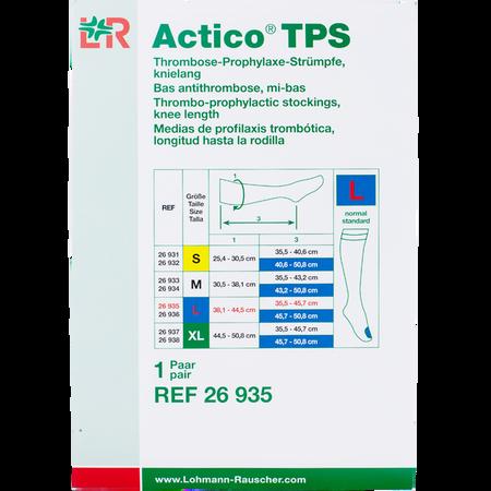 LOHMANN & RAUSCHER Actico® TPS Thrombose-Prophylaxe-Strümpfe knielang Gr. L
