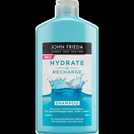 JOHN FRIEDA Hydrate & Recharge tiefenreinigendes Shampoo